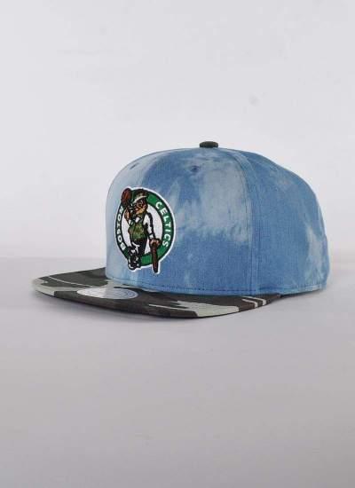 Mitchell & Ness  Dye Camo Celtics Snapback