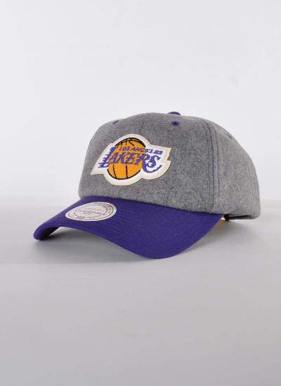 Mitchell & Ness  Slouch Lakers szara