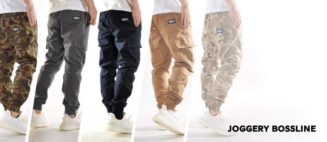 Spodnie męskie Joggery Bossline